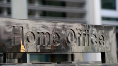 Sign for Home Office in Westminster, London