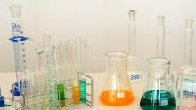 An image of a science experiment in a lab