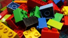 An image of assorted Lego blocks