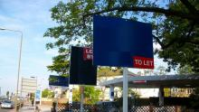 An image of several 'To Let' signs outside a property