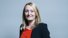 A head-and-shoulders image of Jo Platt MP, shadow minister for the Cabinet Office