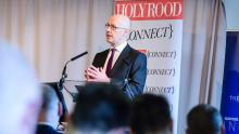 John Swinney at Cyber Security - credit Alistair Kerr/Holyrood