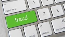An image of a keyboard key emblazoned with the word 'fraud'