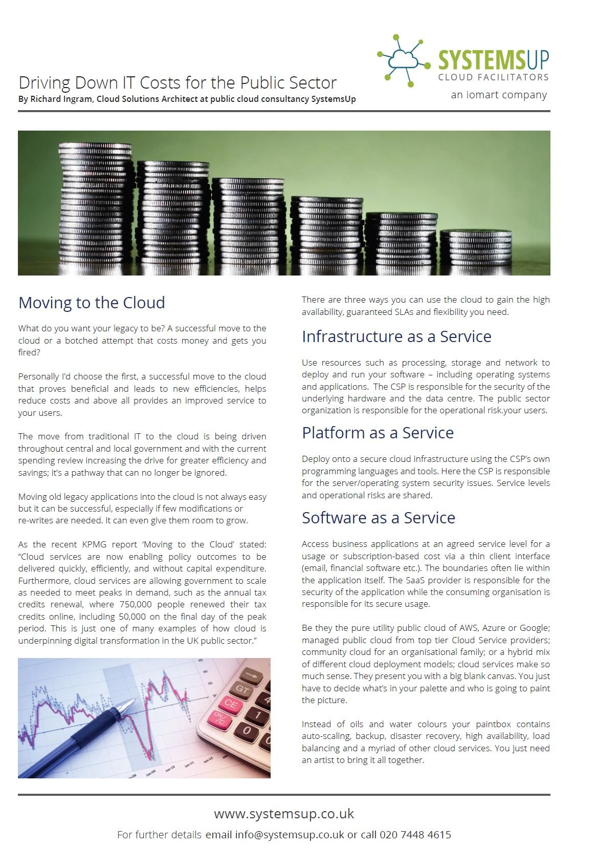 Cover of iomart white paper
