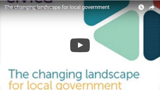 A picture of the changing landscape for local gov