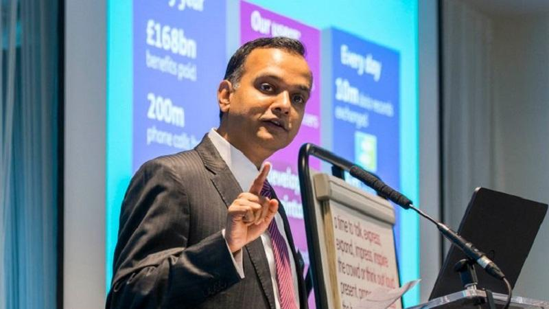 DWP director general of digital technology Mayank Prakash