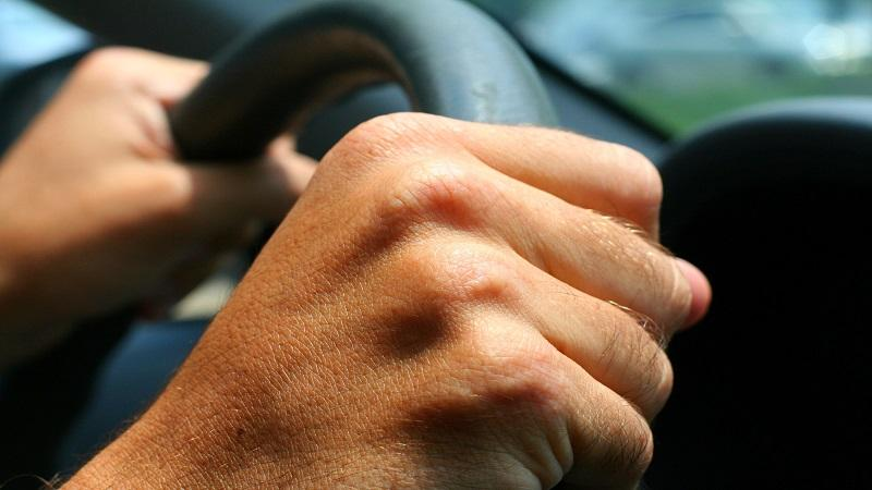 Steering wheel hands