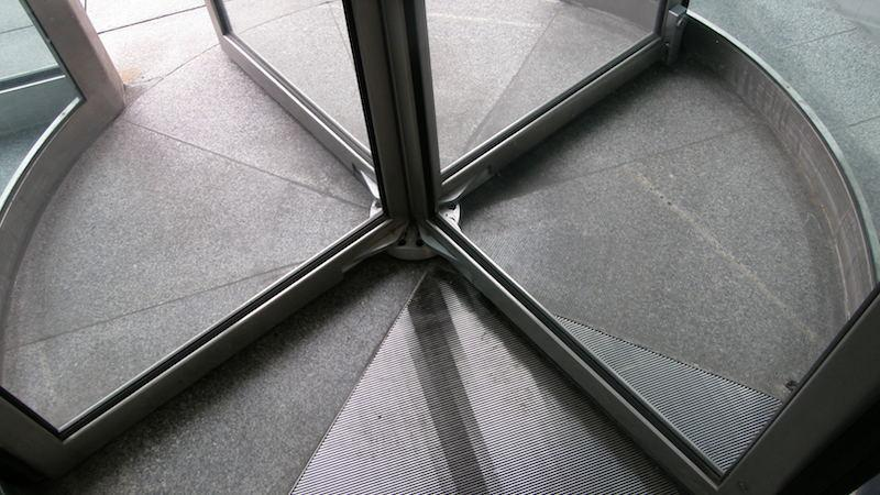 Revolving door - image by Dan4th Nicholas