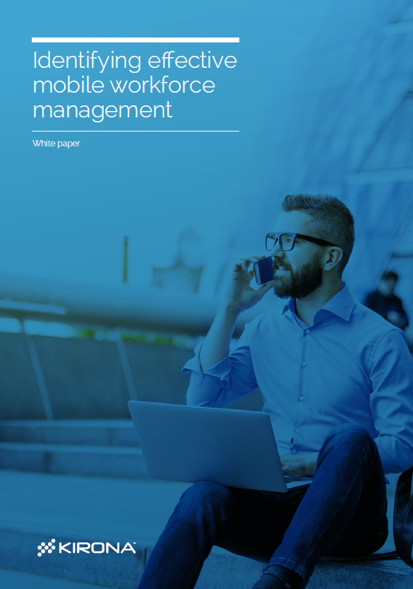 A picture of the Identifying effective mobile workforce management whitepaper