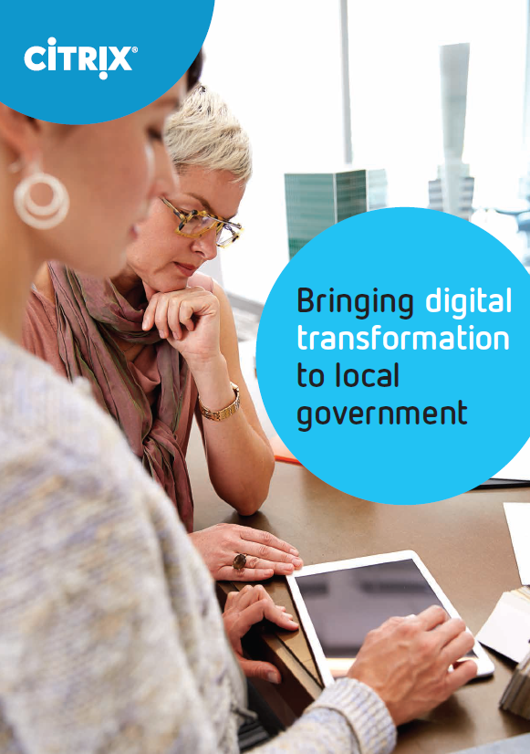A picture of the Bringing digital transformation to local government whitepaper