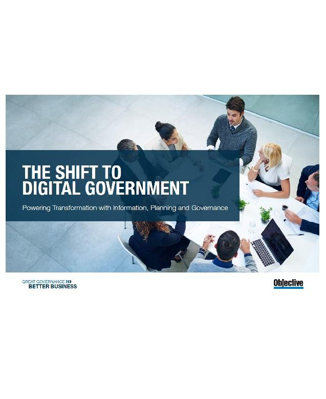 A picture of The Shift to Digital Government whitepaper thumbnail