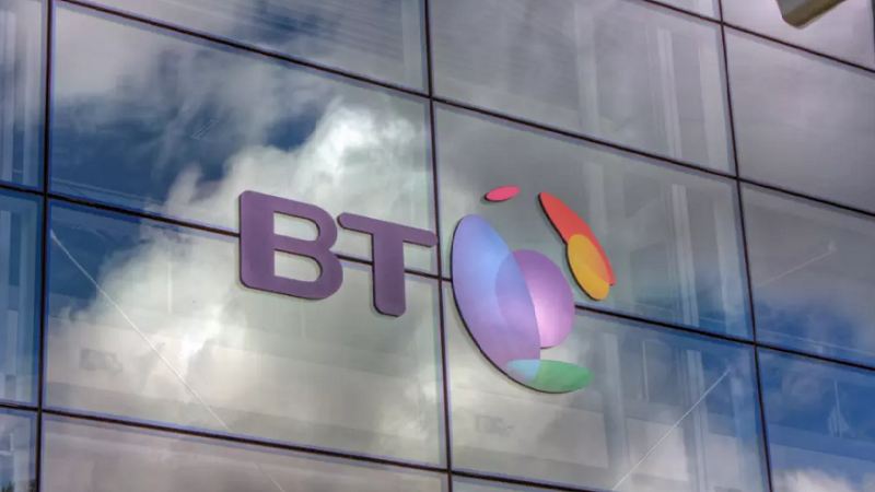 A picture of the BT logo