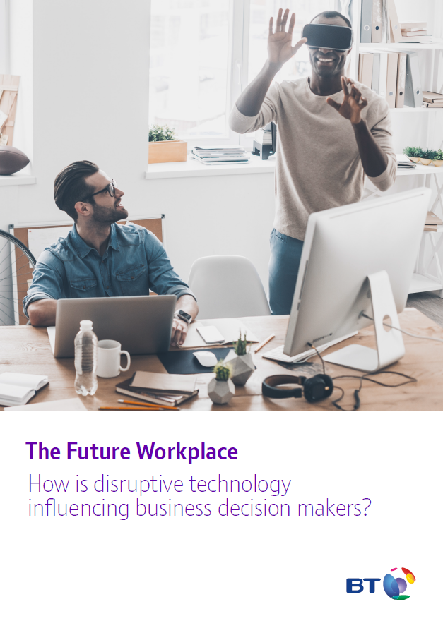 A picture of The Future Workplace whitepaper thumbnail