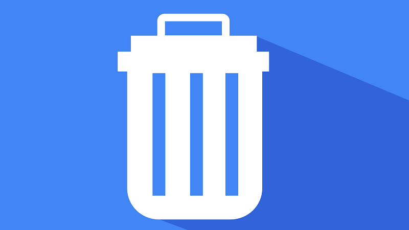 Image of a computer recycle bin icon