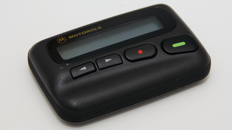 Image of a Motorola pager