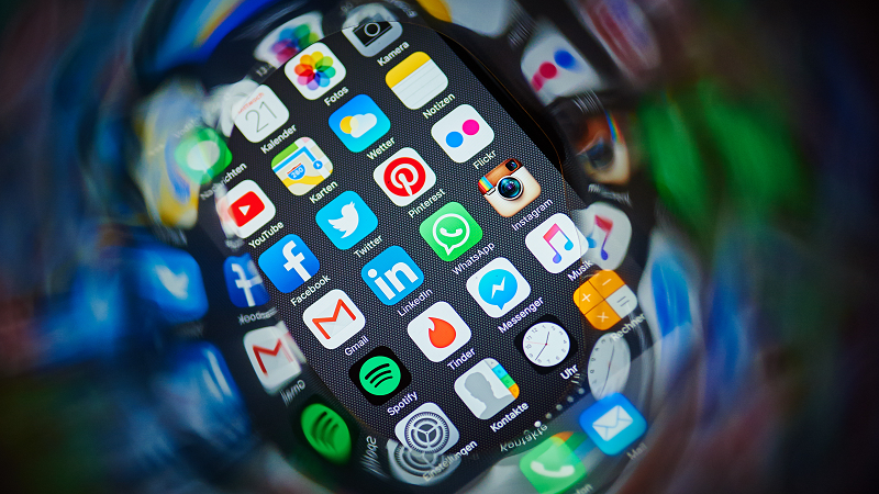 An image of app icons displayed on phone screen