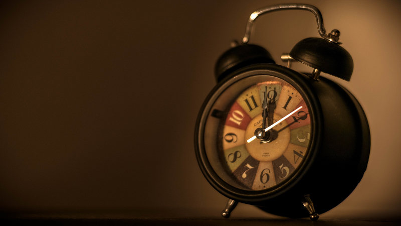 Image of an alarm clock