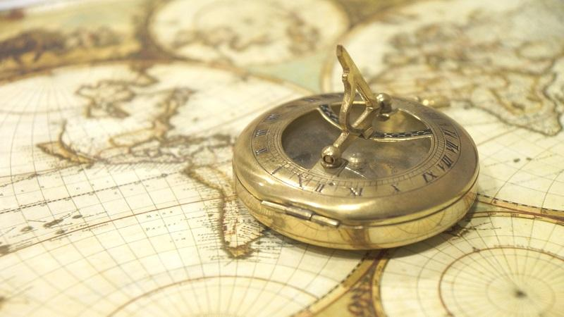 Image of Map and Compass