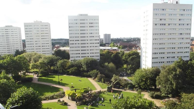 An image of Birmingham City Centre Gardens