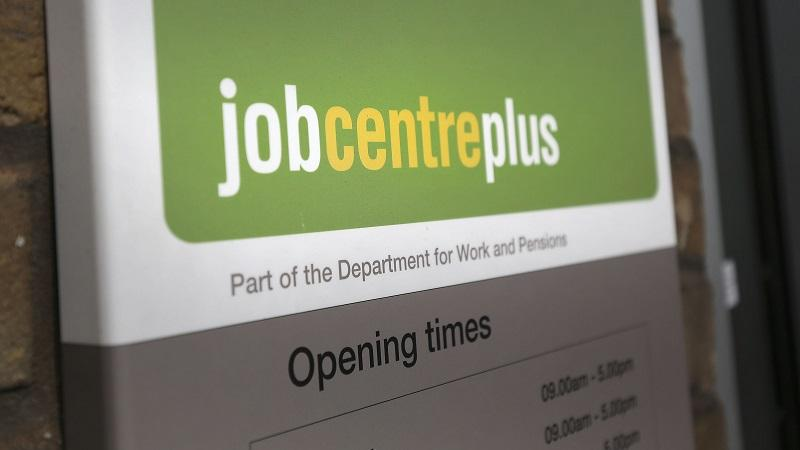 Image of Job Centre Plus sign