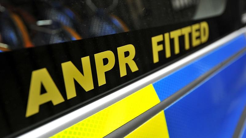 An image of a Metropolitan Police car with the words 'ANPR fitted' written on the side