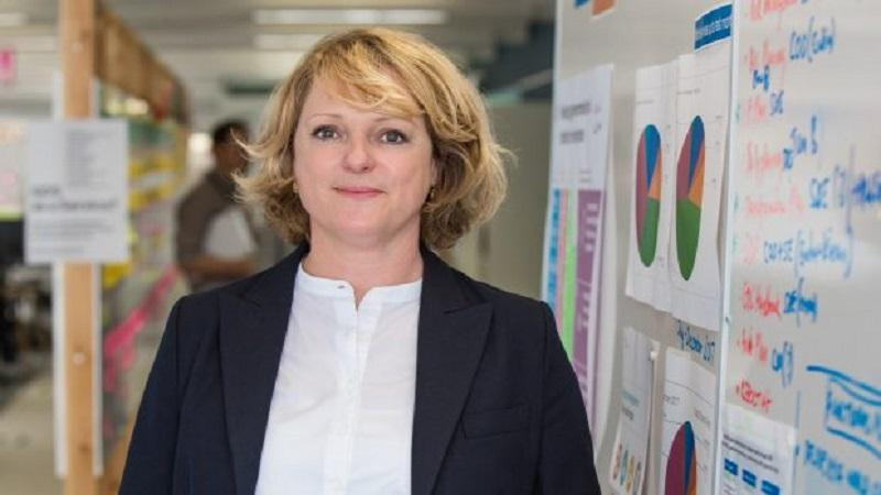 A head-and-shoulders image of GDS chief operating officer Sally Meecham