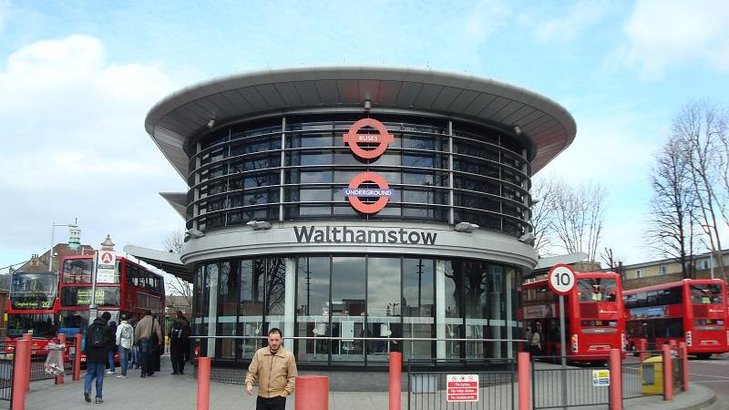 An image of Walthamstow bus station