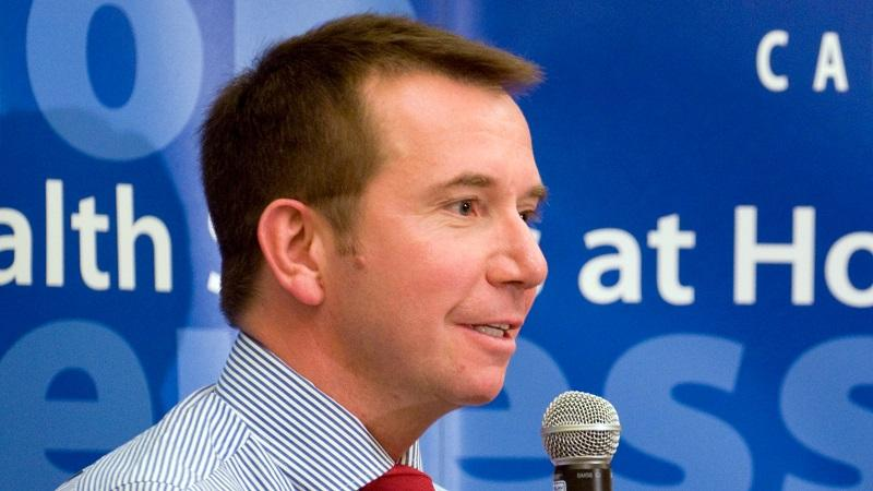 An image of Scott Brison, president of the Treasury Board of Canada