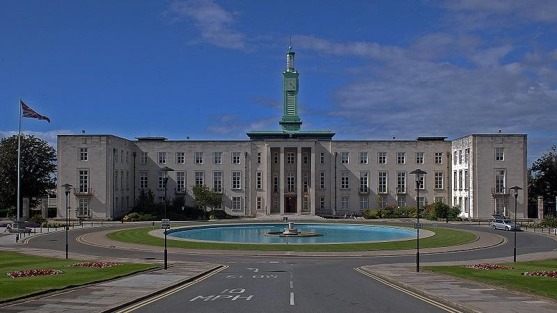 An image of the exterior of Walthamstow Town Hall