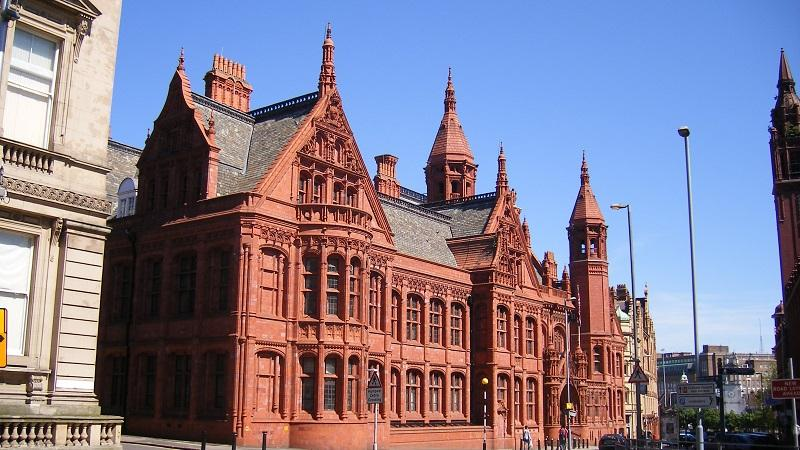 An image of the exterior of  Birmingham magistrates court