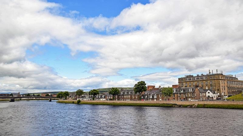 An image of the Scottish city of Inverness