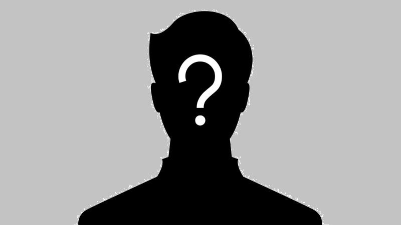 An illustration depicting a silhouette of a face emblazoned with a white question mark