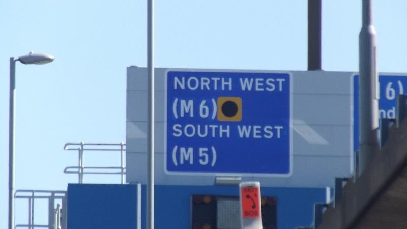 Road sign - North West South West
