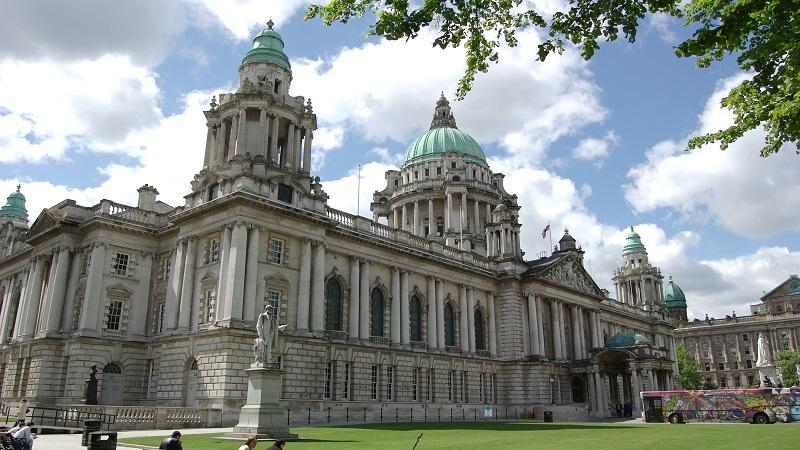 An image of Belfast City Hall