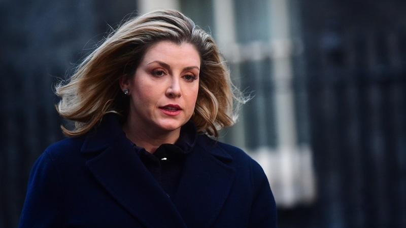 A head-and-shoulders image of defence secretary Penny Mordaunt