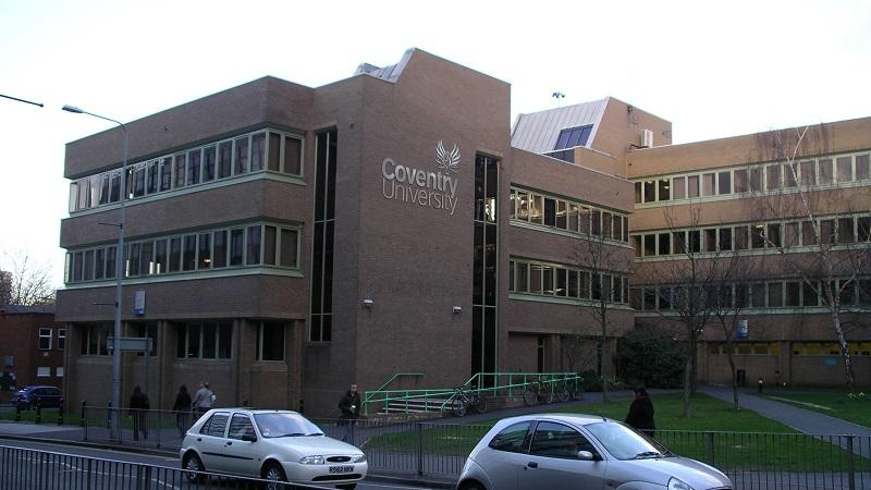 An image of the exterior of Coventry University Foss Building