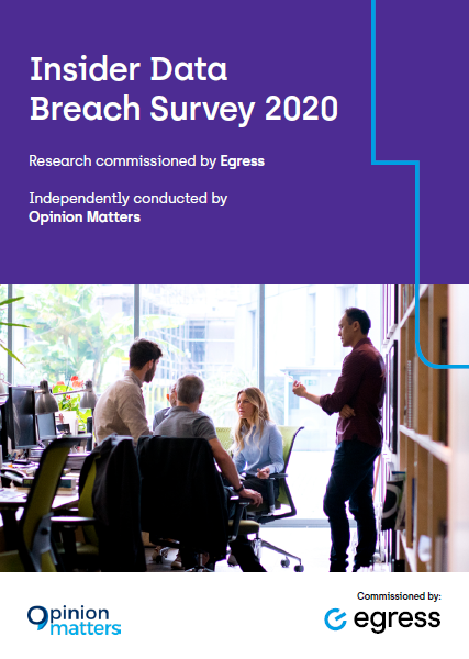 Egress insider breach survey 2020