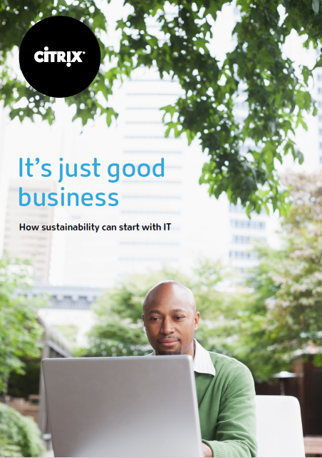 A picture of It's just good business: How sustainability can start with IT