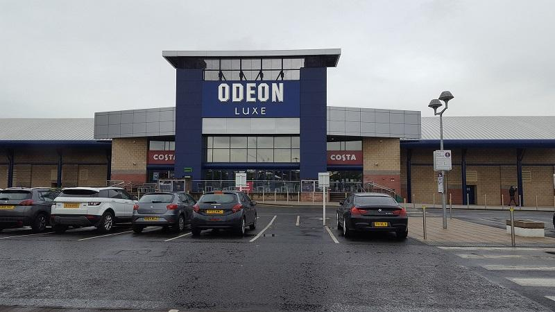 An image of the exterior of Odeon Glasgow Quay