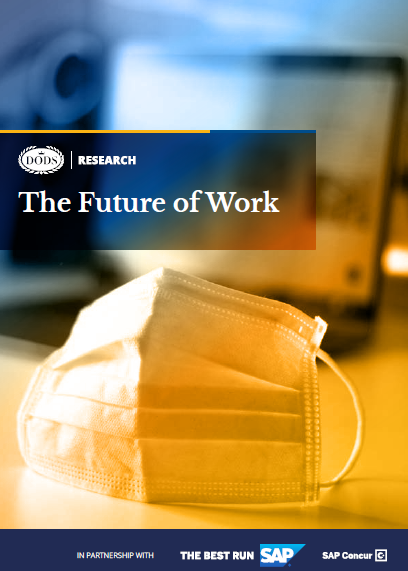 Dods Research & SAP Concur - the future of work - cover image