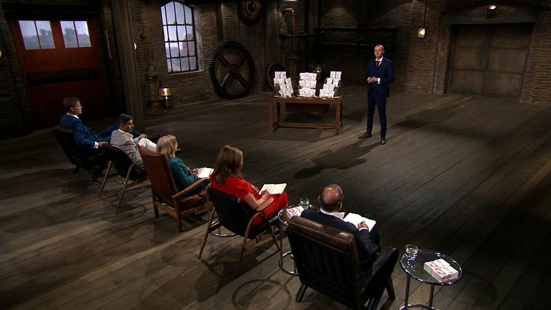 An image from the TV show Dragons Den