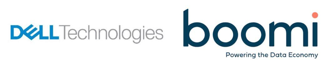 A picture of the Dell Boomi joint logo