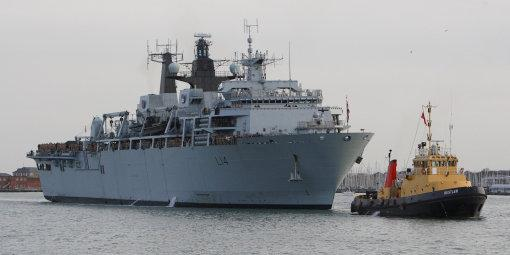 Navy rescue Brits from Libya