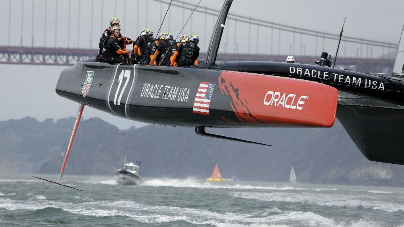 Oracle Team USA catamaran