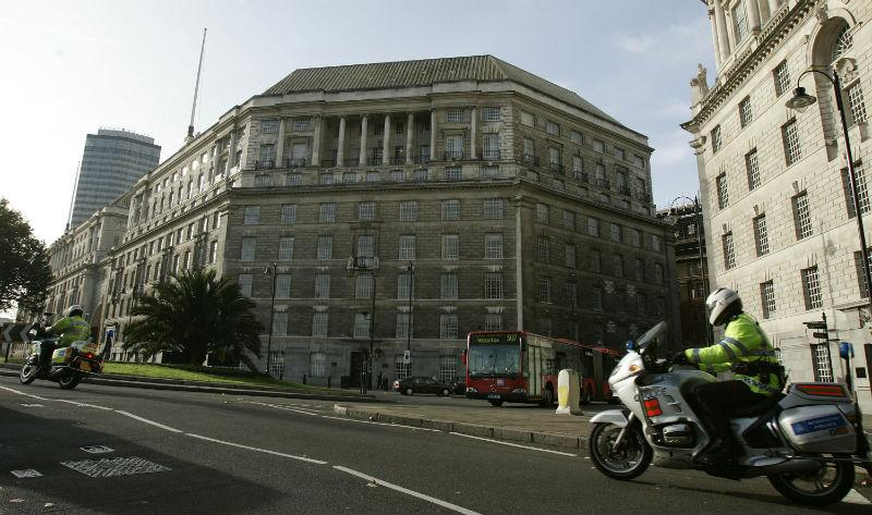 Picture of the MI5 Building
