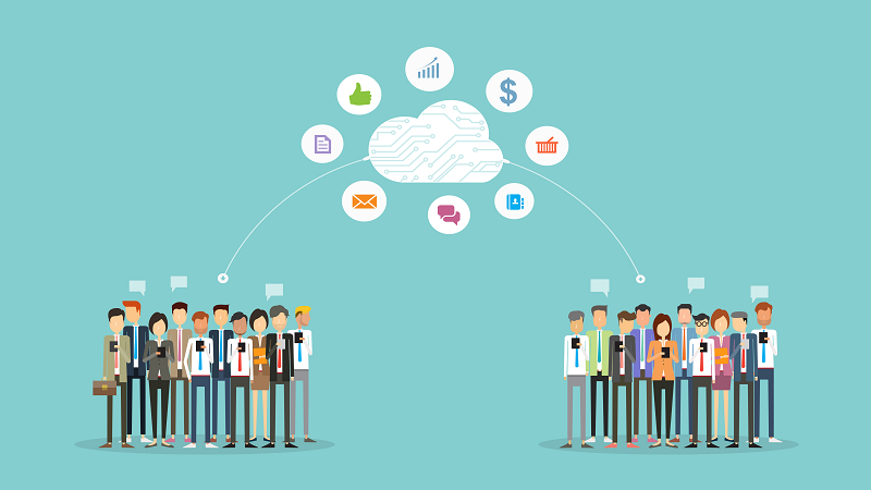 A picture of The Public Sector in a Cloud First, Mobile First World