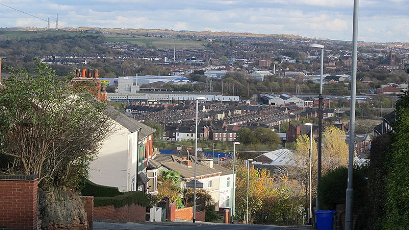 An image of the Stoke city skyline